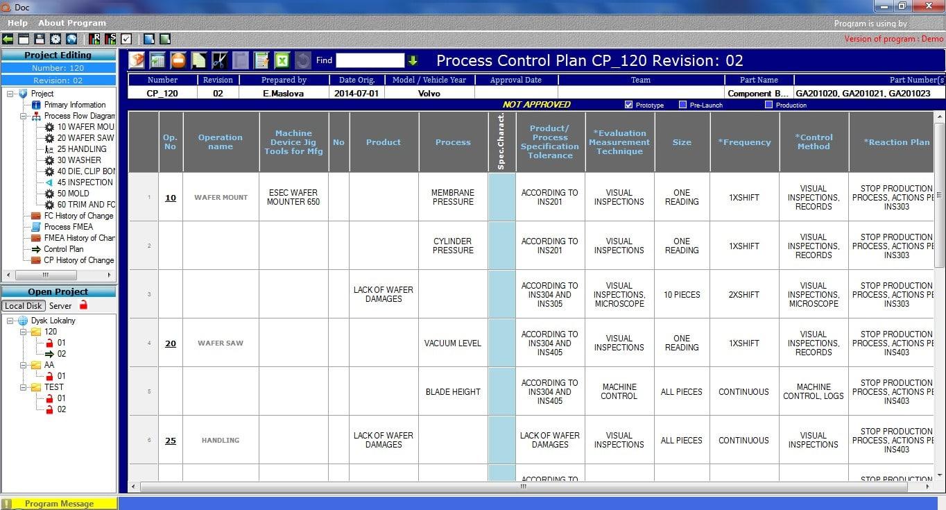 process flow diagram aiag qdoc software    flow    chart  control plan  fmea download  qdoc software    flow    chart  control plan  fmea download