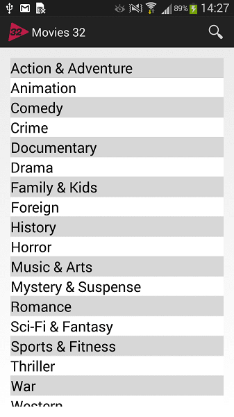 Movies 32 for Android