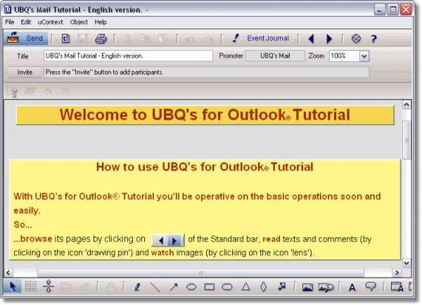 UBQ's Mail for Outlook (English)
