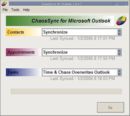 ChaosSync for Outlook
