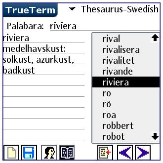 English/Swedish-Special PalmOS
