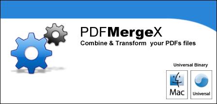 PDFMergeX