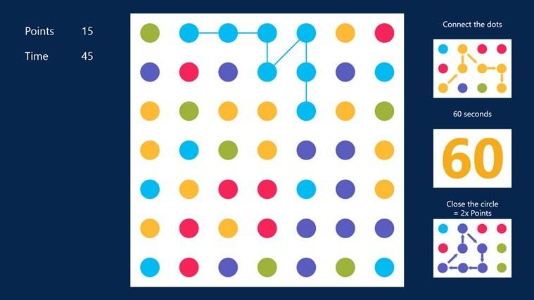 49 Dots voor Windows 10