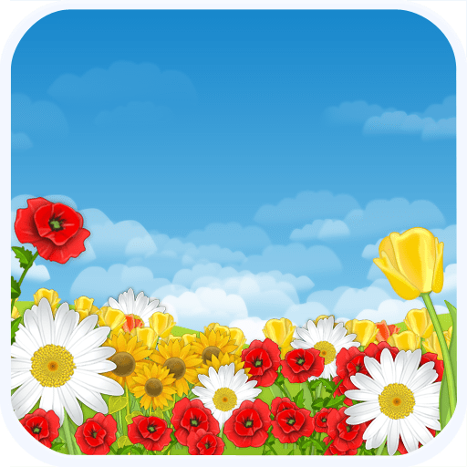 Flower Field Live Wallpaper