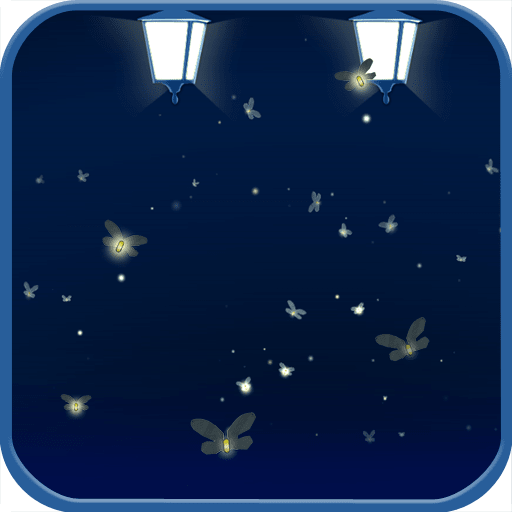 Glowing Firefly Live Wallpaper