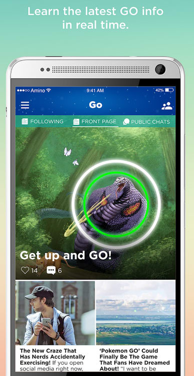 Amino Pokemon Go Finder & Chat