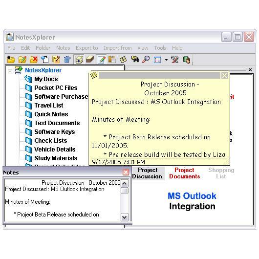 NotesXplorer + Free Desktop Companion