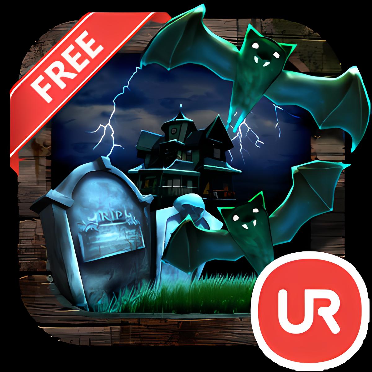 UR 3D Haunted House Live Theme