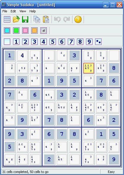 Simple Sudoku