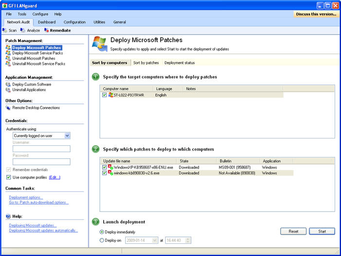 GFI LanGuard Network Security Scanner