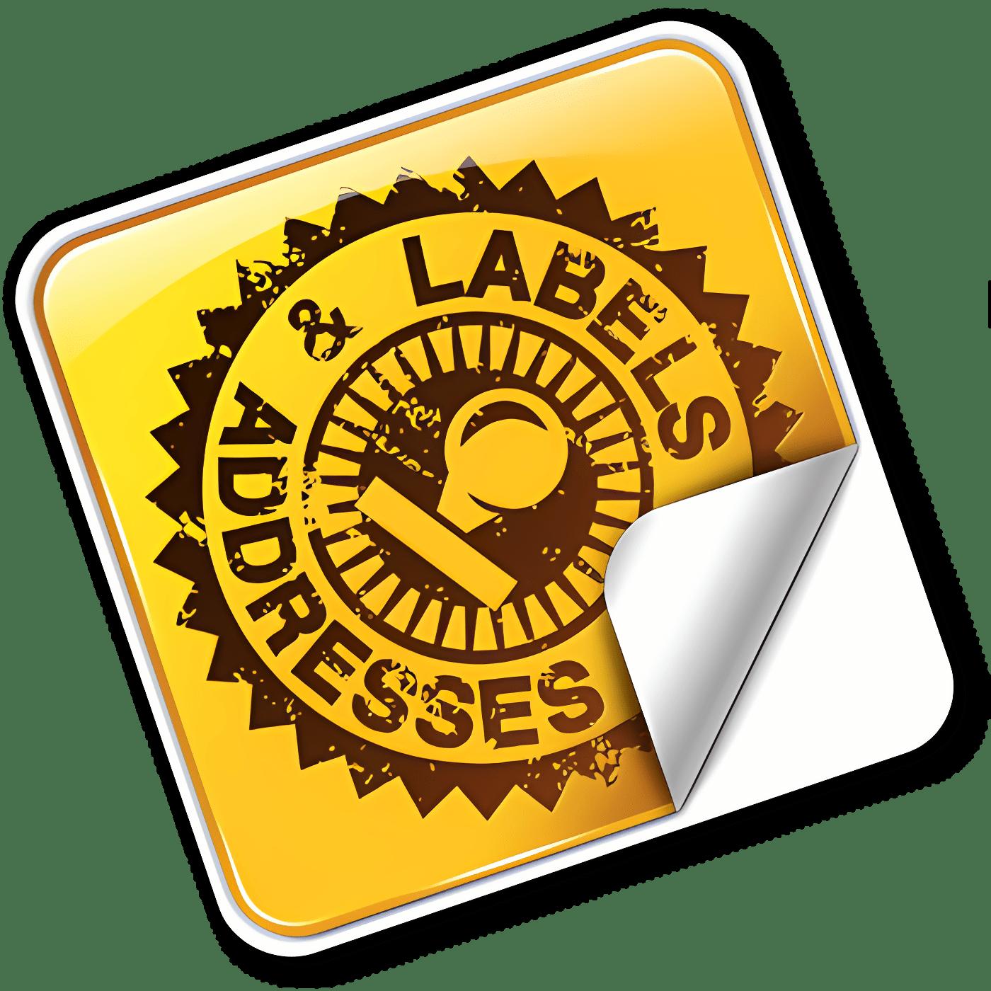 Labels & Addresses 1.7.3