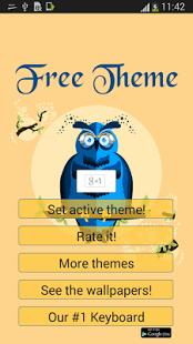 GO Launcher Theme gratuito