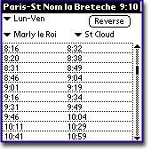 Trainsched