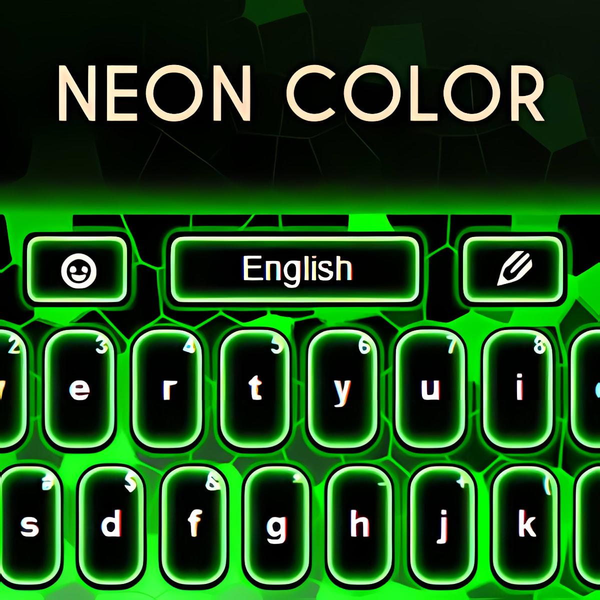 La piel del teclado Colores