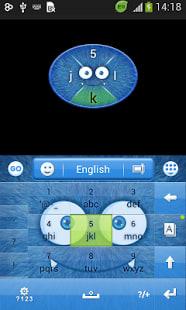 Lindo teclado Fluffy
