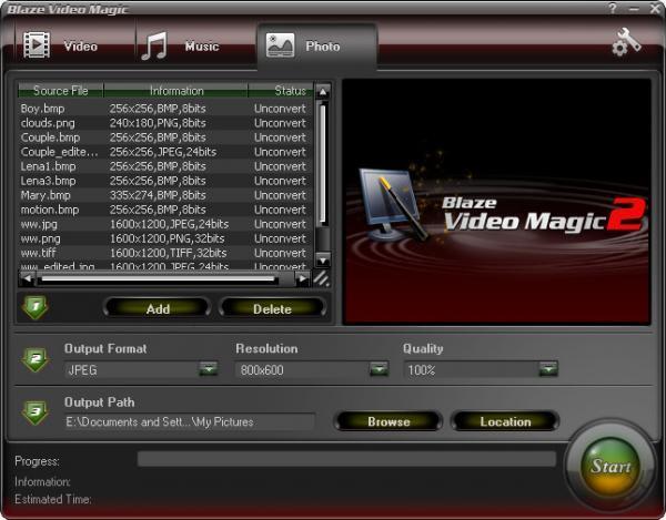 Blaze Video Magic
