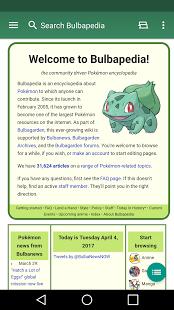 Bulbapedia - Pokémon Wiki