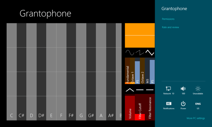 Grantophone para Windows 10
