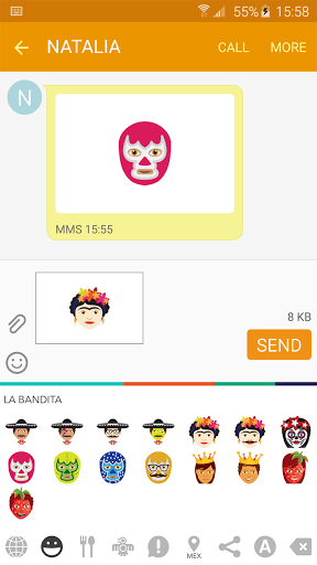 Latino Emoji