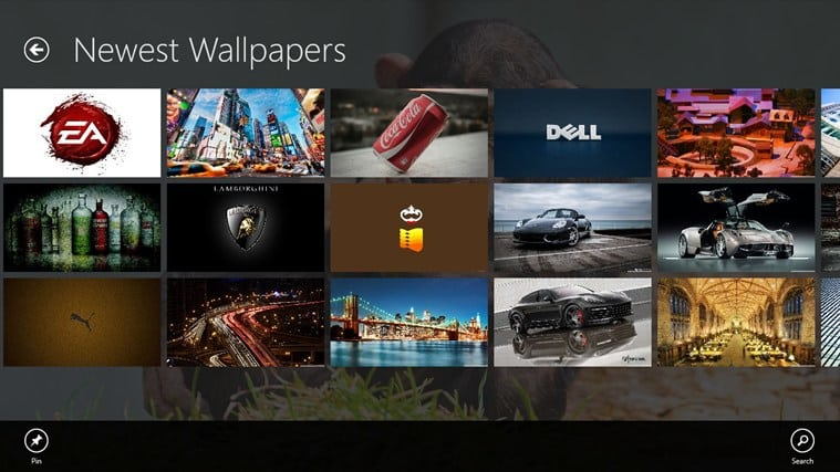 Backgrounds Wallpapers HD para Windows 10