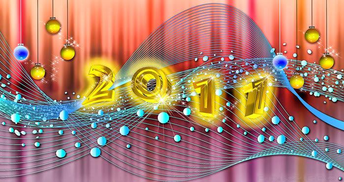 2011 New Year Wallpaper