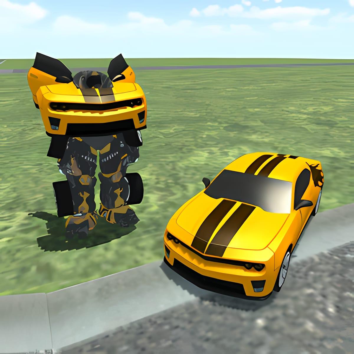 Transformer Robot Car