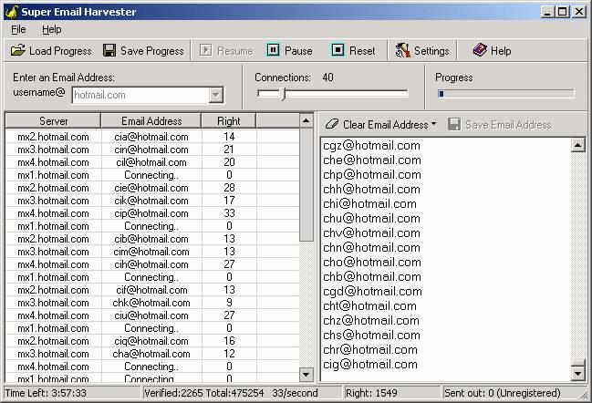 Super Email Harvester