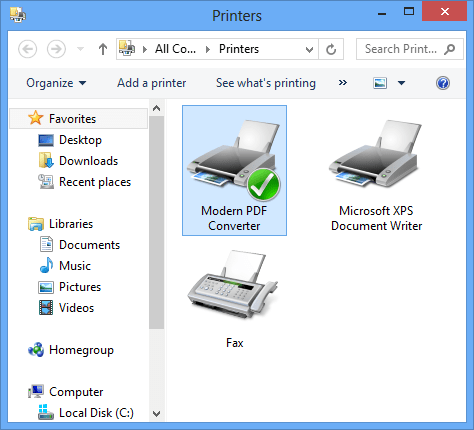Modern PDF Converter