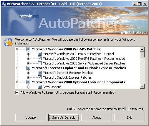 AutoPatcher 2000