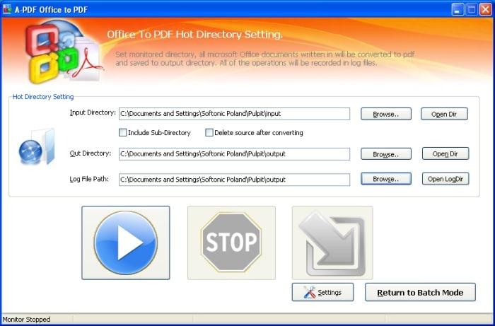 A-PDF Office to PDF