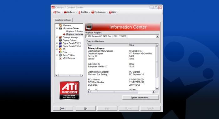AMD Catalyst Driver for Windows 10 32-bit 15.7.1 Quick ...