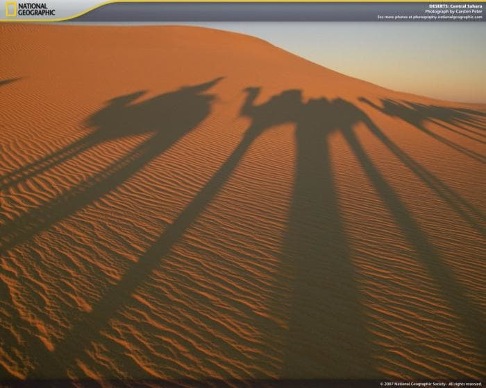 National Geographic Deserts Screensaver