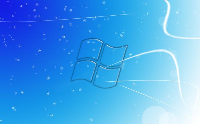 Windows 7 Winter Background