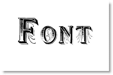 Artistic Font Collection