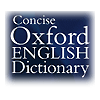 Browse to Concise Oxford English Dictionary