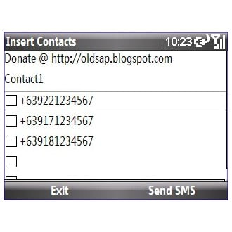 Insert Contacts