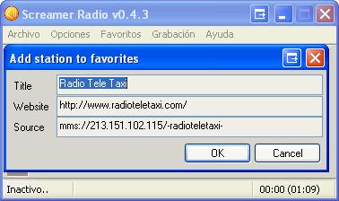 Screamer Radio Portable