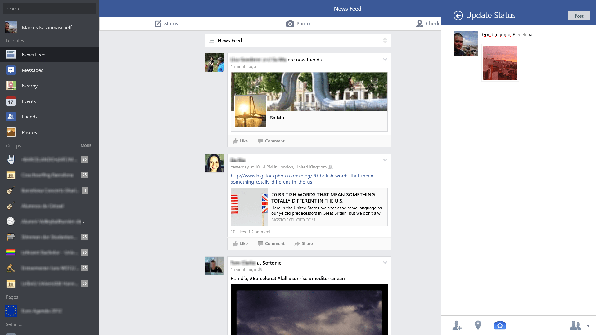 Télécharger <b>Facebook</b> Desktop <b>pour</b> <b>Windows</b> - clubic.com