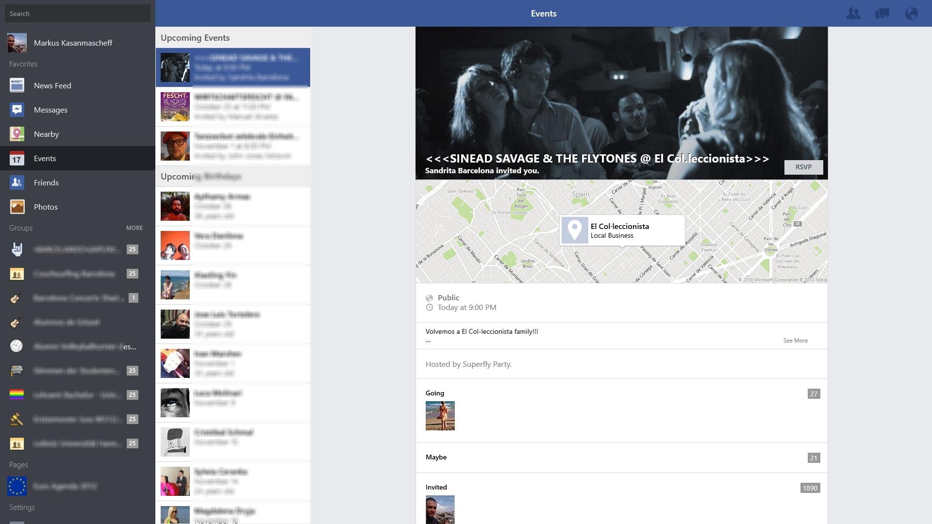 Facebook for Windows 10 (Windows) - Download