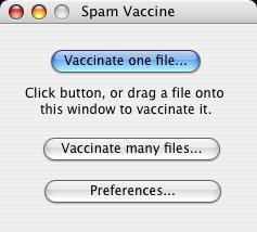 Spam Vaccine