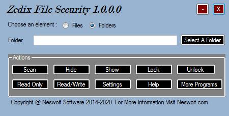 Zedix File Security