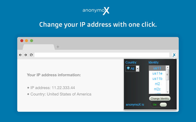 anonymoX for Chrome