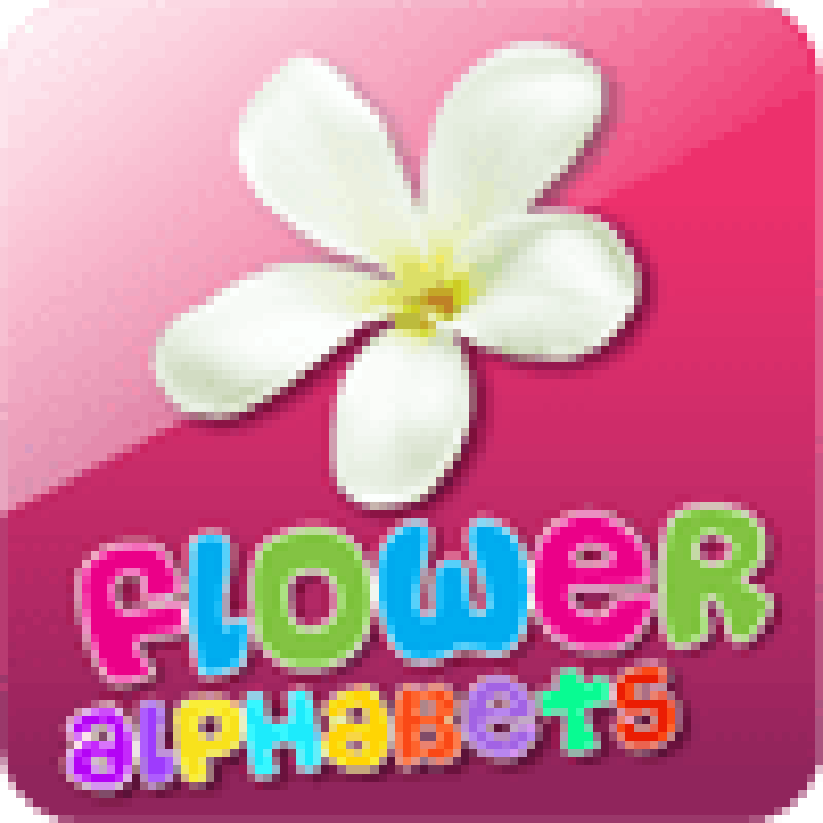 Kids ABC Alphabet - Flower