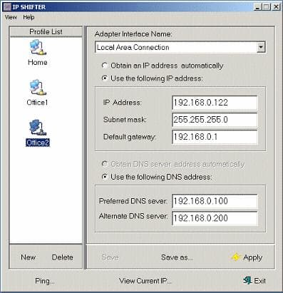 IP Shifter