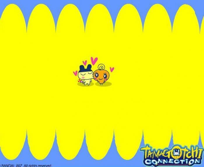 Tamagotchi Connection Screensaver