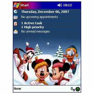 Disney Christmas Theme