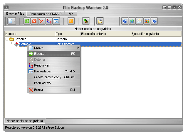 File Backup Watcher