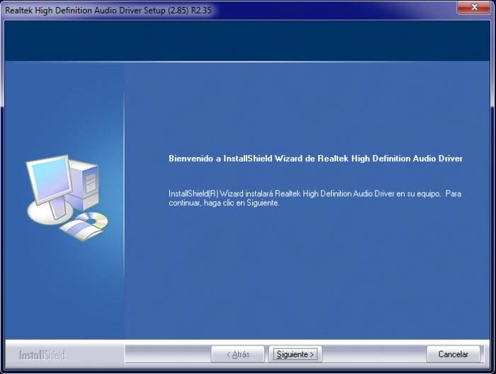 Realtek High Definition Audio Codec (Windows Vista ...