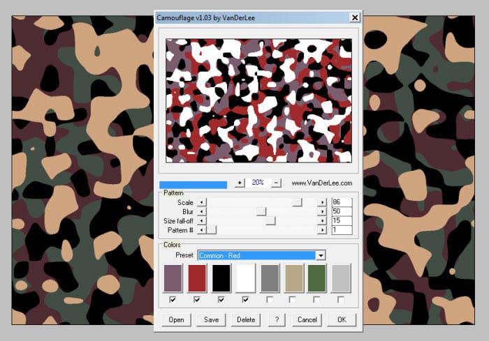 VanDerLee Camouflage