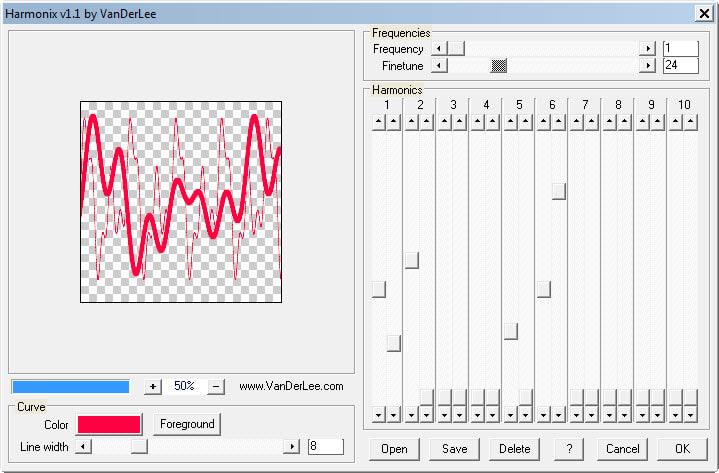 VanDerLee Harmonix 1.1